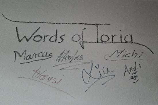 Words of Toria